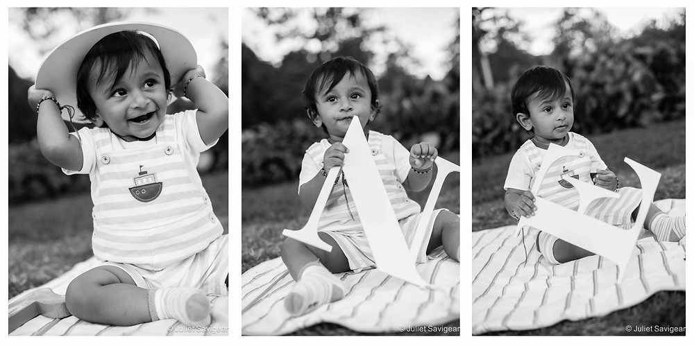 Children's Birthday Photography - One Year