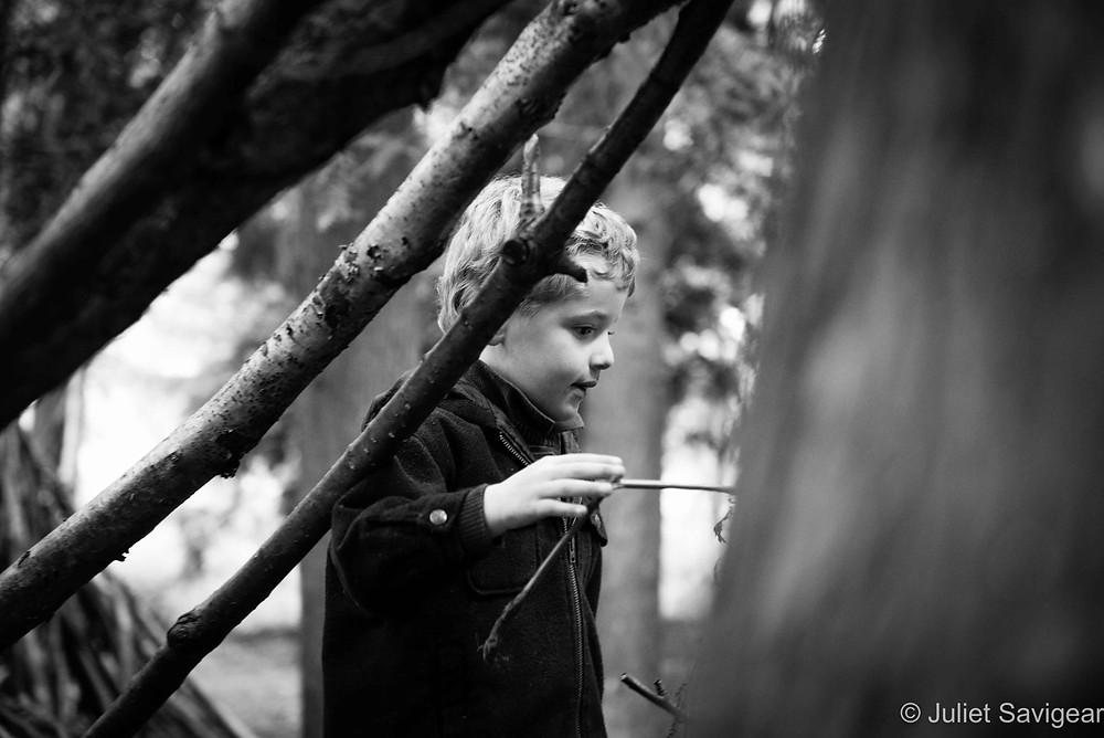 Exploration! Twin Children's Photography, Oxfordshire