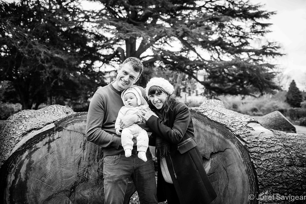 By The Giant Tree Trunks - Baby & Family photography, Norbury