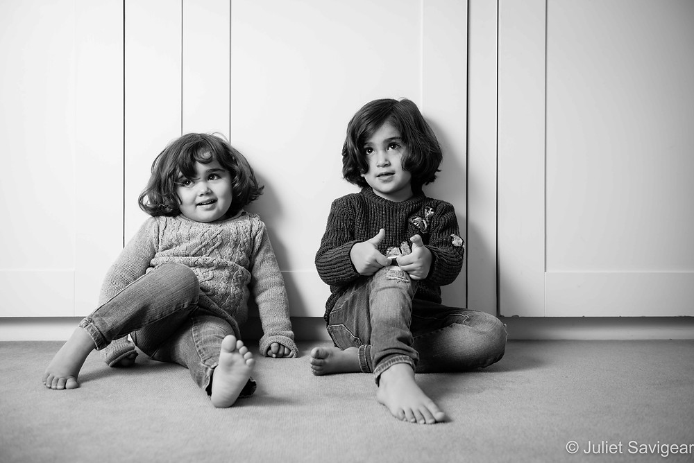 Sisters - Children's Photography, Balham