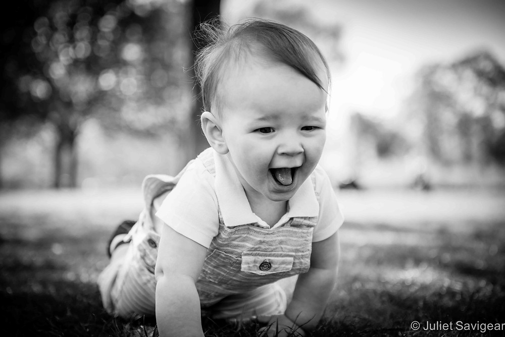 Crawling - Baby Photography, Clapham Common