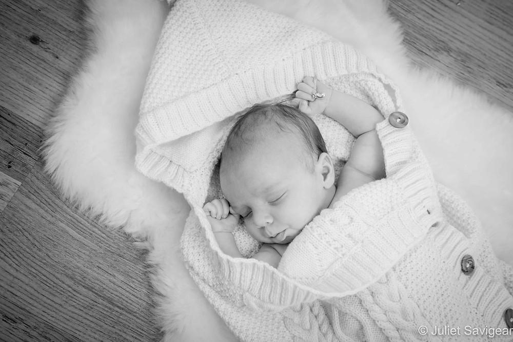Sleeping Baby - Baby Photographer, Leyton