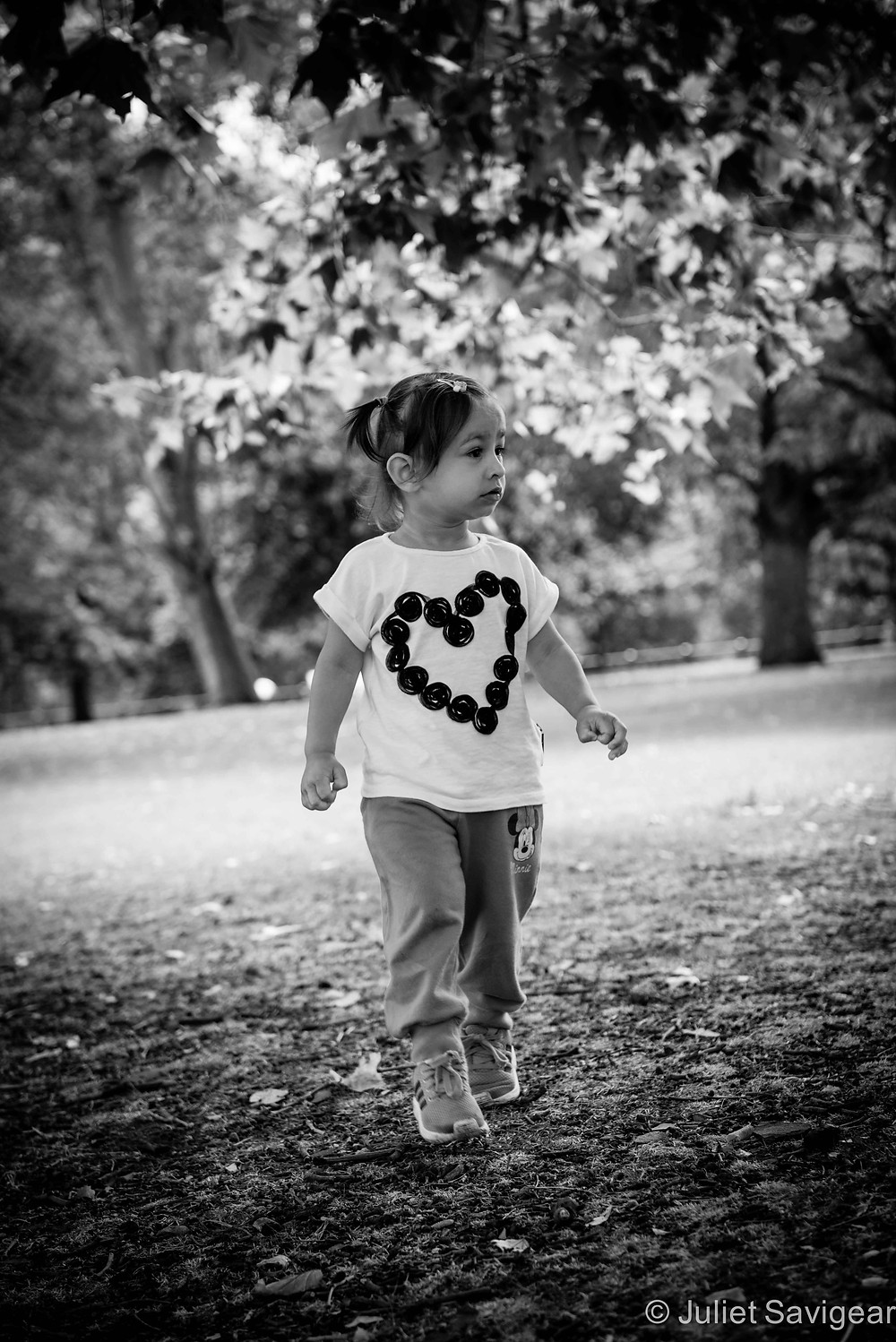 Through The Woods - Children's Photography, London