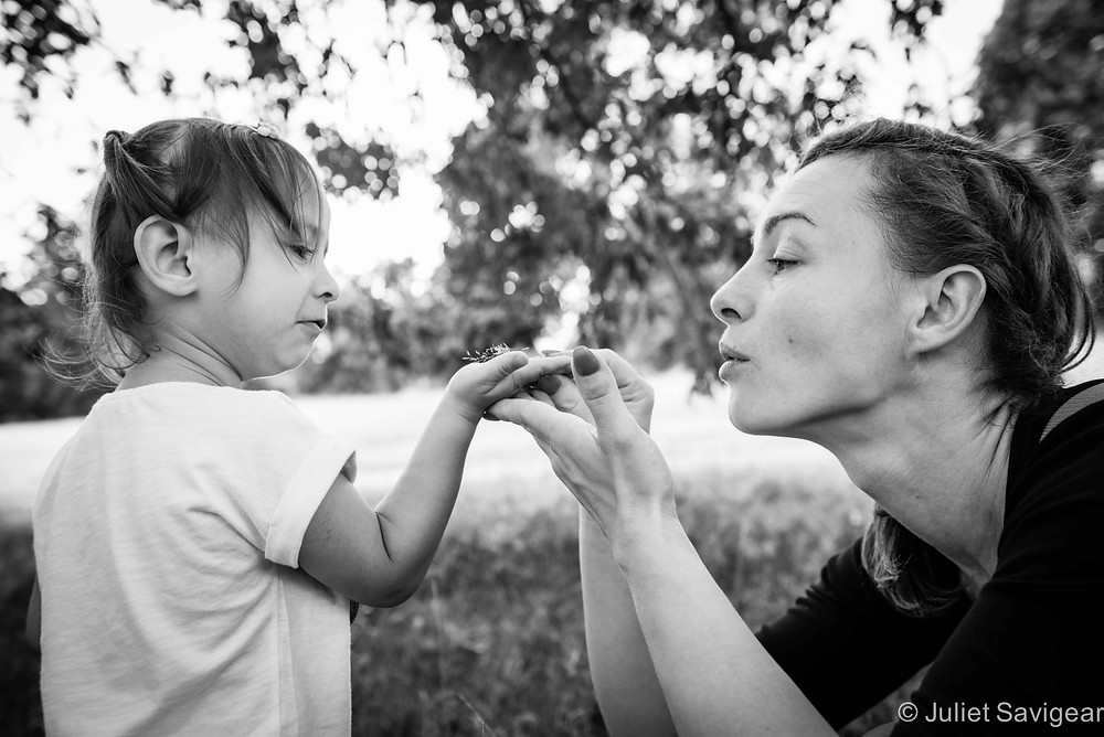 Blowing - Children's & Family Photography, London