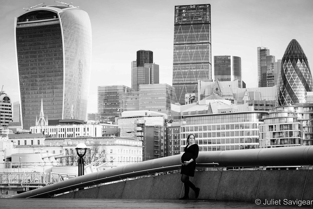 Maternity Photography - City View, London