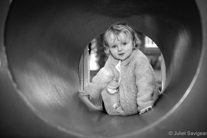 Books, Teddies & Playground Fun on Family Photo Shoot - Belsize Park