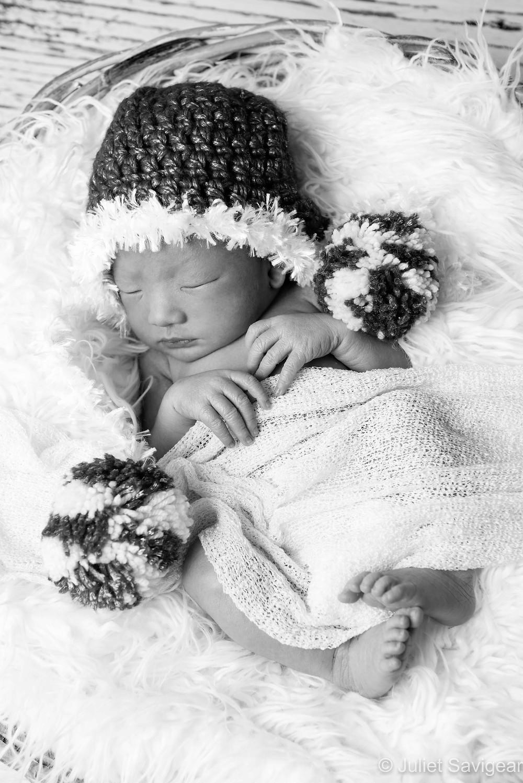 Christmas Baby - Newborn Baby Photography, Victoria, London