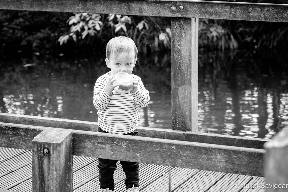 Outdoor toddler photography