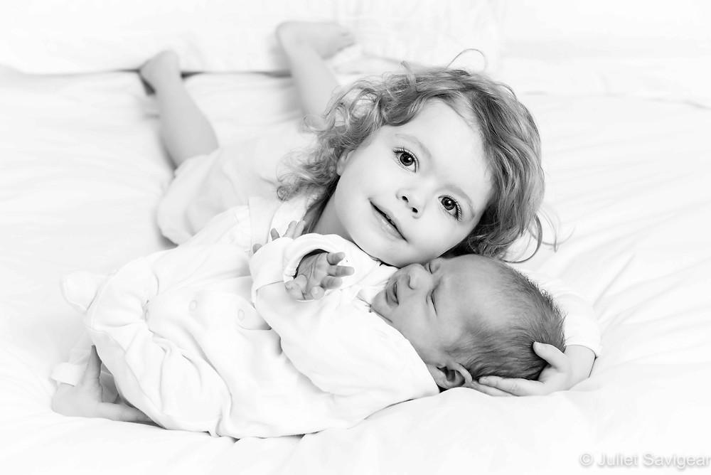 Toddler & Newborn Baby