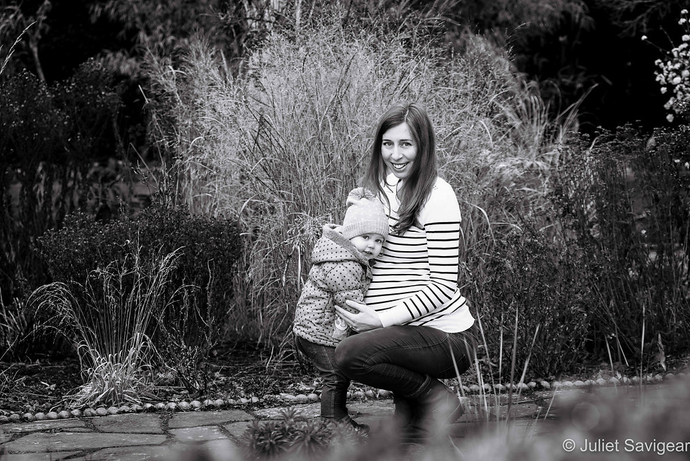 Toddler & Mum - Maternity Photography - Brockwell Park