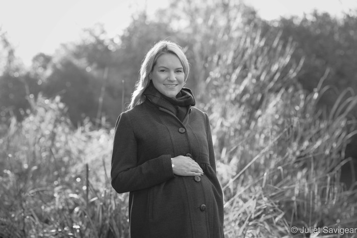 Maternity Photo Shoot On Wandsworth Common & At Home