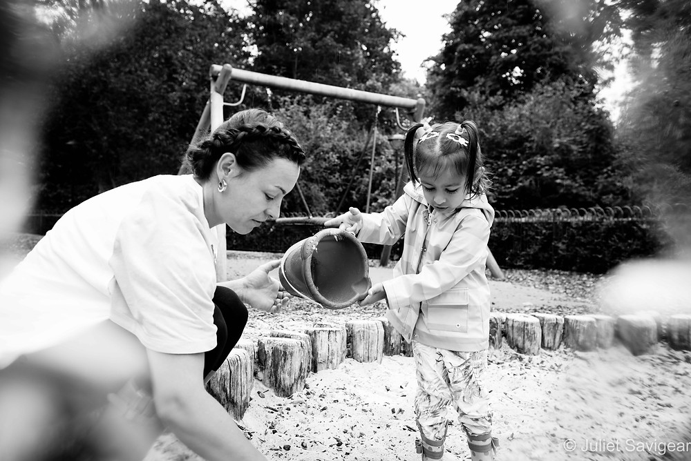 Sand Pit - Family Photography, Chiswick
