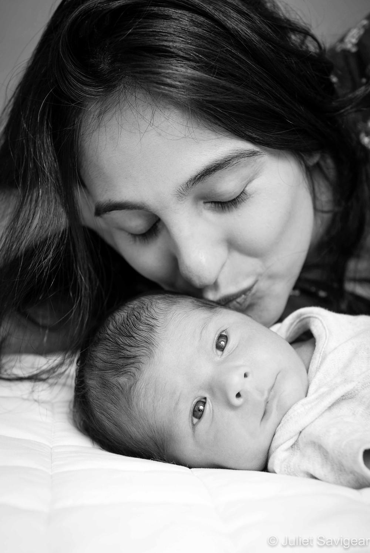 Kiss - Newborn Baby Photography - Balham