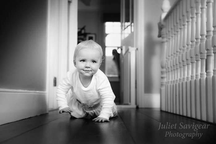 One Year Old & Family Photo Shoot At Home - Balham