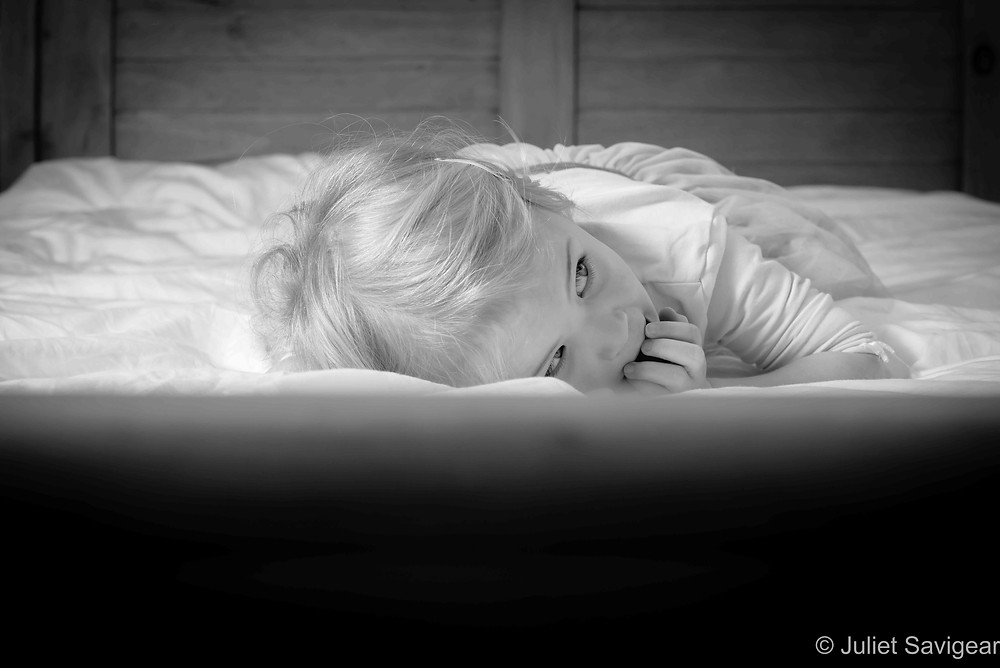 Natural children's photography at home