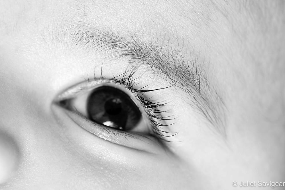 Eye - Baby Photography - Balham