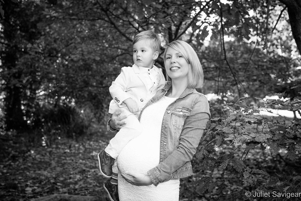 Mother & Son - Maternity Photography, Tooting Common