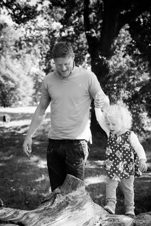 Log Beam - Children's & Family Photography, Surrey
