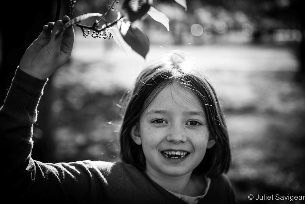 Leaves - Children's Photography, Clapham Common