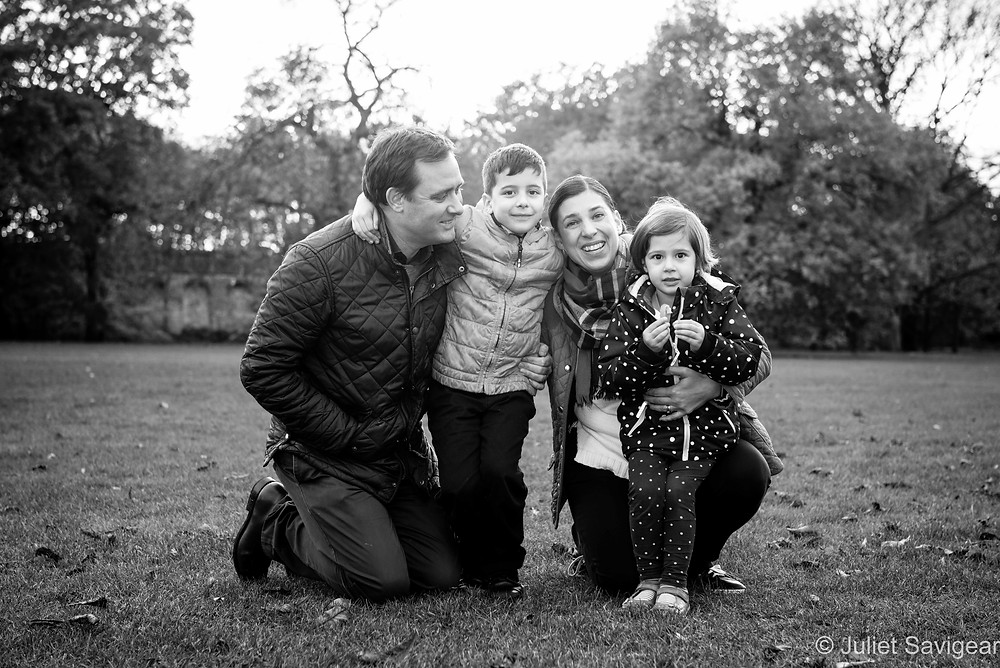Family photo on Tooting Common