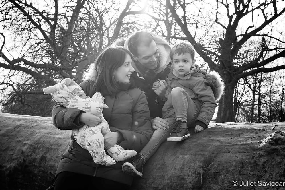 Family photo shoot - Wandsworth Common