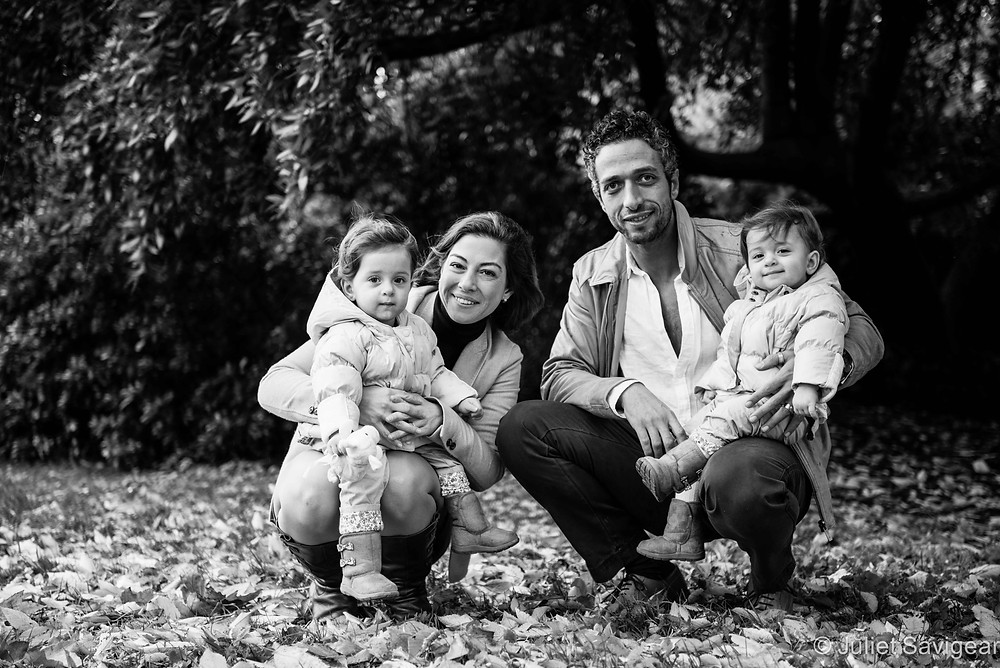 Family Photography with twin girls - Kensington & Chelsea
