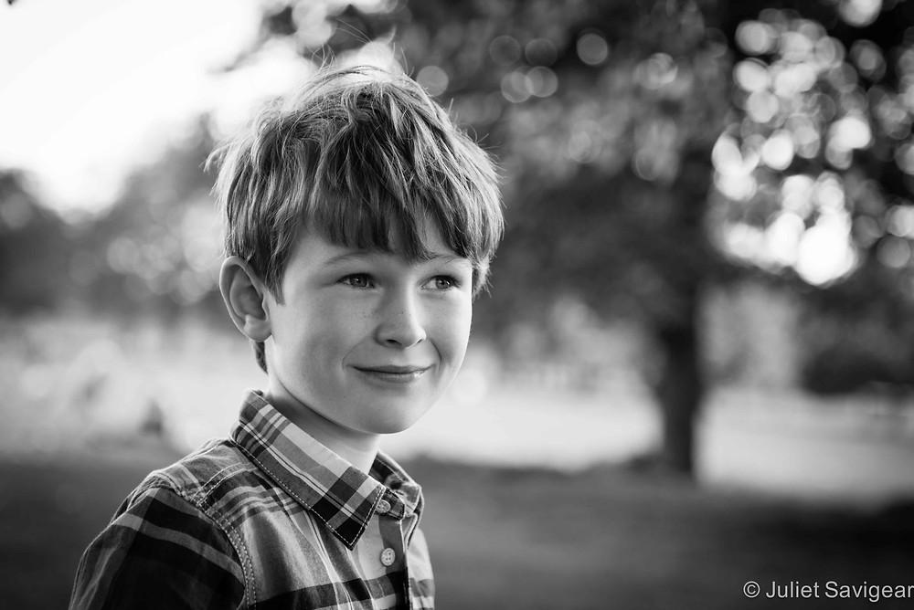 Children's Portrait Photography, Clapham Common