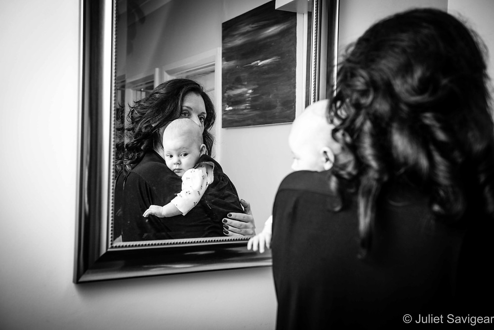Mirror Reflections - Baby & Family Photography, Streatham