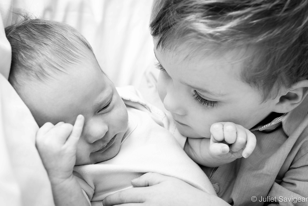 My New Brother - Newborn Baby & Family Photography, Tooting
