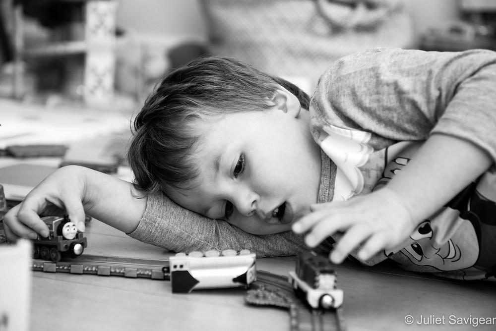 Trains - Children's Photography - Southfields