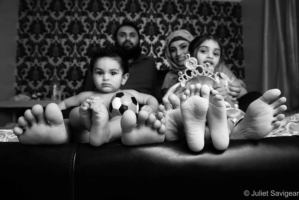 Family Feet - Family Photography, Mitcham