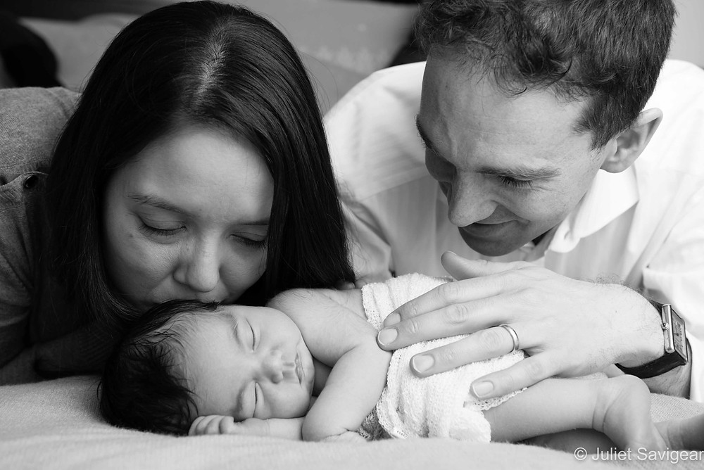 Family Portrait - Newborn Baby Photography, London