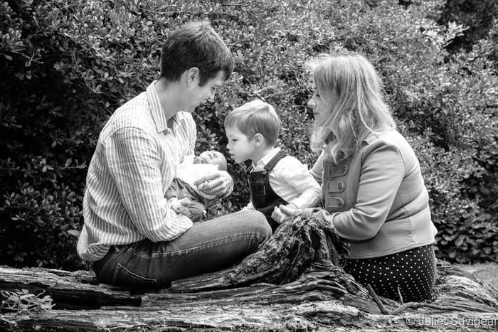 Outdoor Newborn Baby & Family Photo Shoot - Cannizaro Gardens