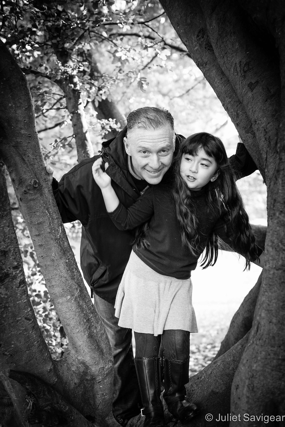 Father & Daughter - Children's & Family Photographer, Kenwood House, Hampstead