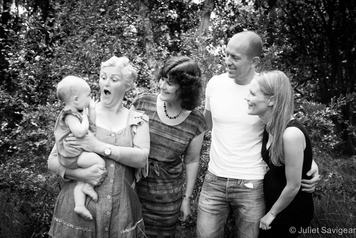 Baby & Extended Family Photo Shoot - Wimbledon