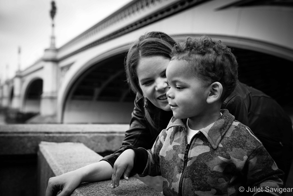 By Westminster Bridge - Family Photographer, London