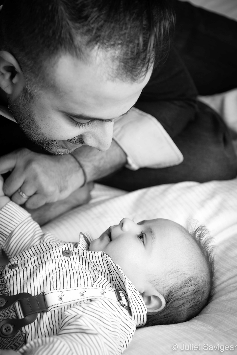 Father & Son - Baby Photography - Balham