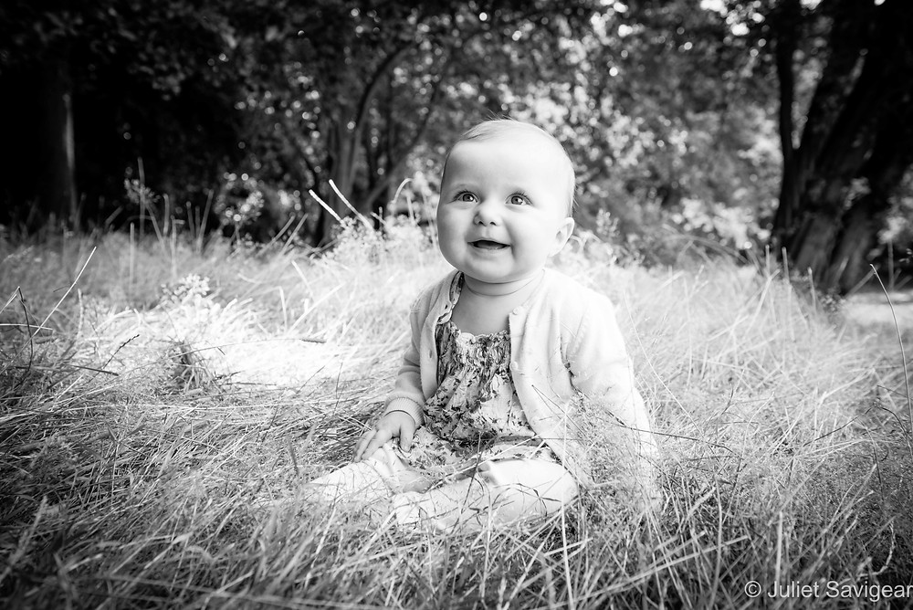 In The Grass - Baby Photography - Kenwood House