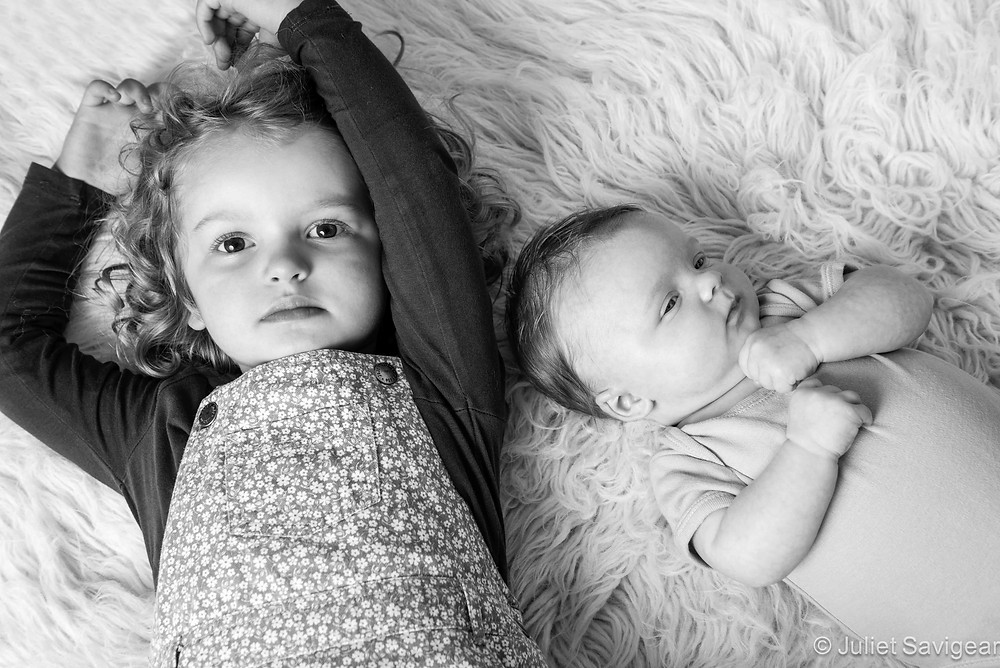 Sisters - Newborn Baby & Children's Photography, Wimbledon
