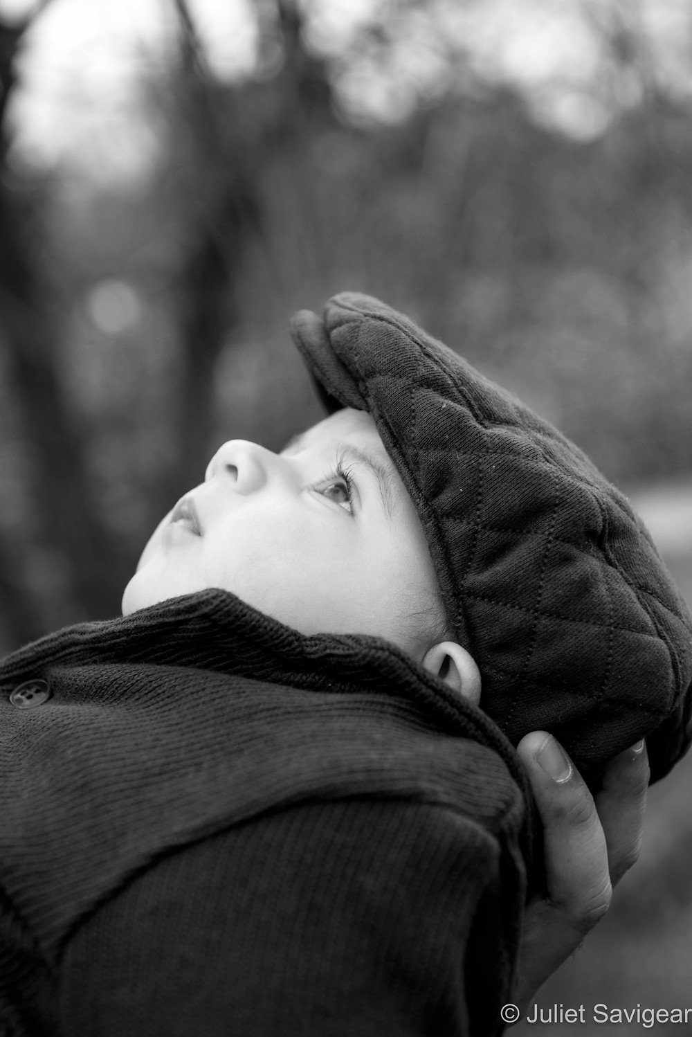 Baby In Hat - Baby Photography - Tooting Common