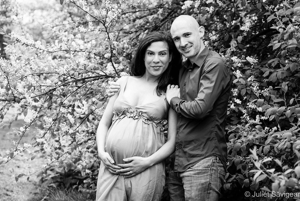 Blossoming! Pregnancy Photography, Tooting Common