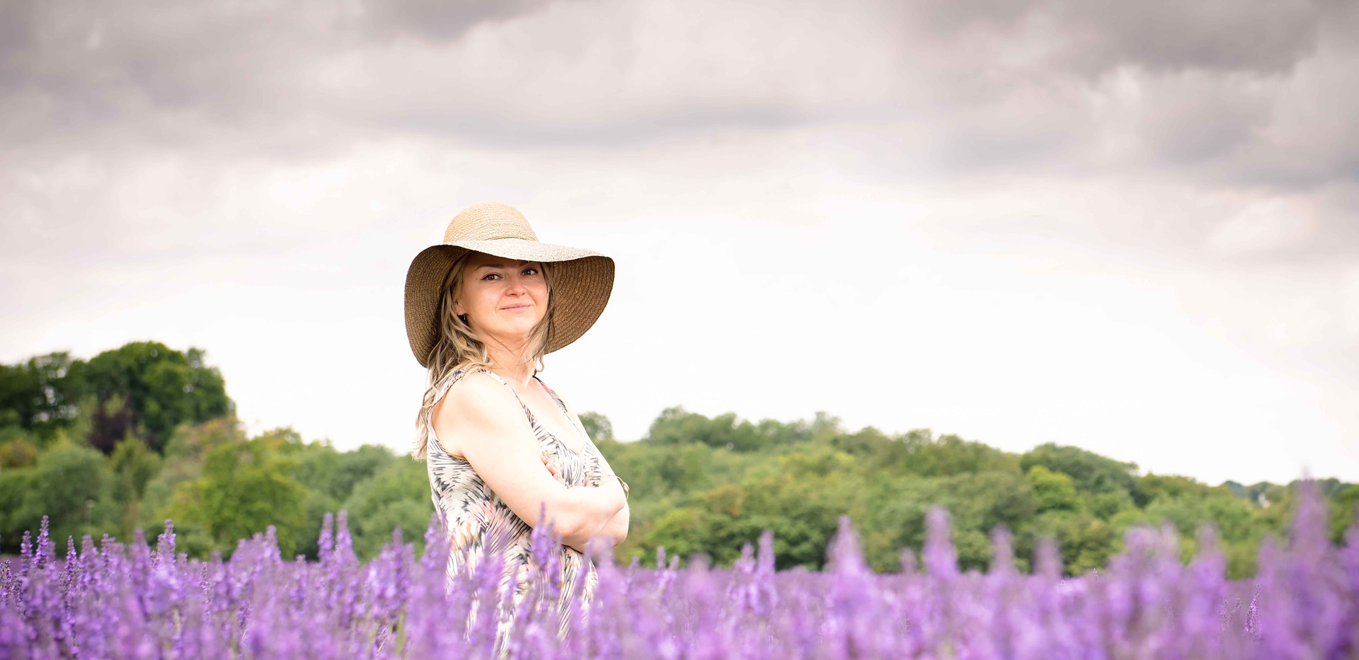 Lady In The Lavender