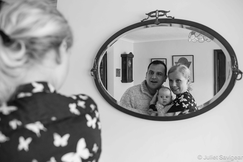 Family Portrait Reflections - Baby & Family Photography, Orpington