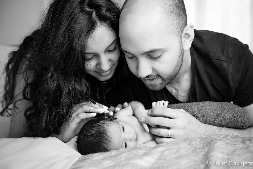 Family Portrait - Newborn Baby Photography, Coulsdon