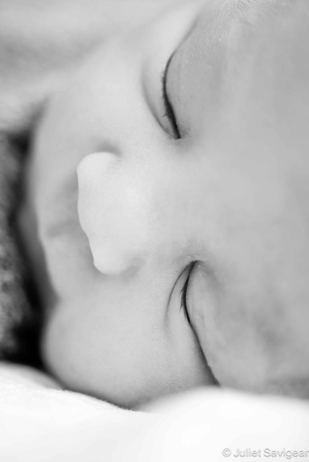 Sleeping Eyes - Newborn Baby Photography, Vauxhall