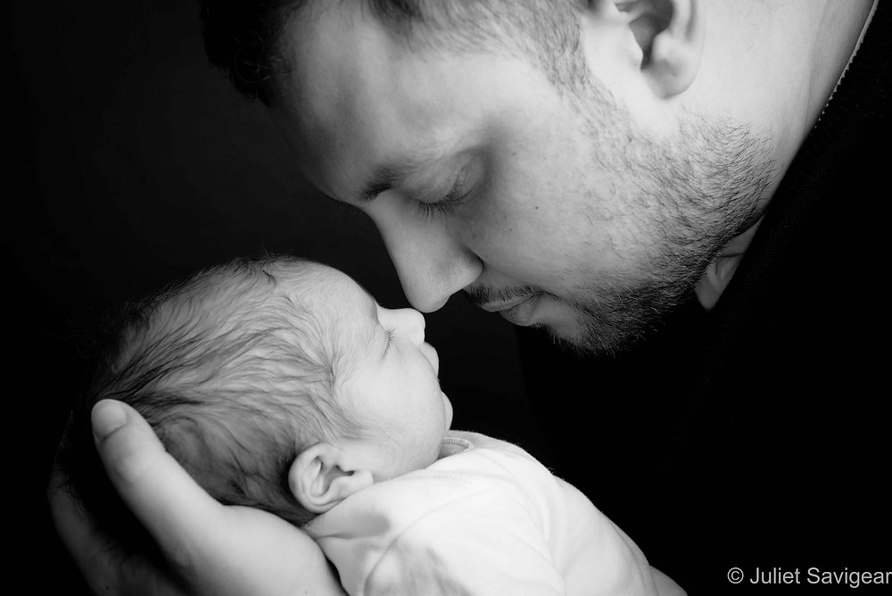 Nose To Nose With Daddy