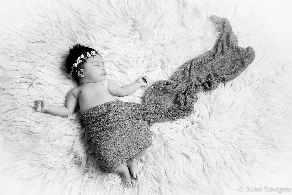 Sleeping Baby - Baby Photography, Surrey