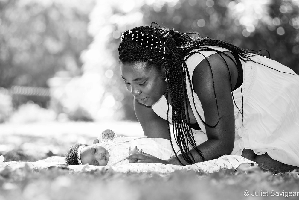 Mother & Baby in the park