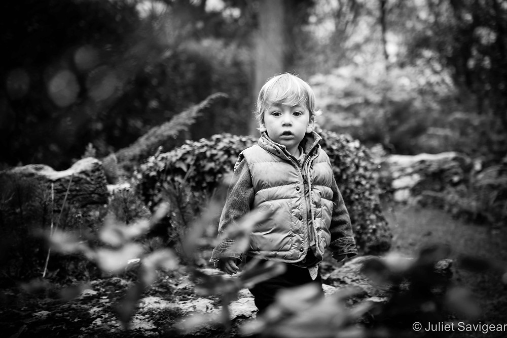 Among The Bushes - Children's Photography, Purley