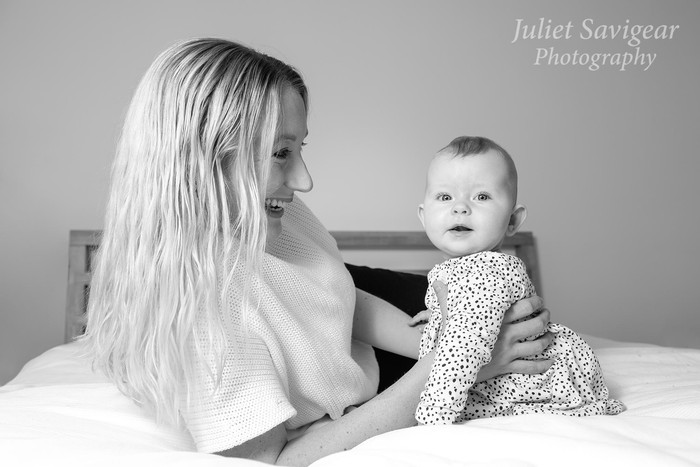Natural Photo Shoot At Home With 6 Month old Baby - Streatham